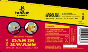 DAS IS KWASS - Berliner Weisse